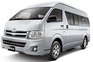 Sewa Mobil Toyota Hiace Bali