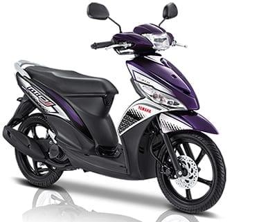Mio-J-Sporty sewa motor di bali