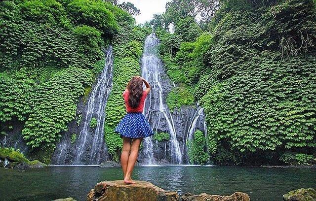 Objek Wisata Air Terjun Bali