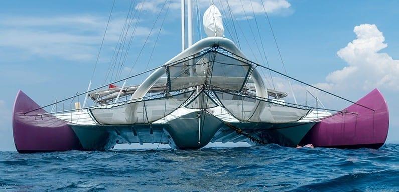 Bentuk sewa kapal di bali Aneecha Sailing Catamaran