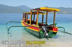 Boat Di Nanggu Lombok