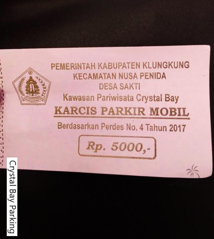Parkir tiket