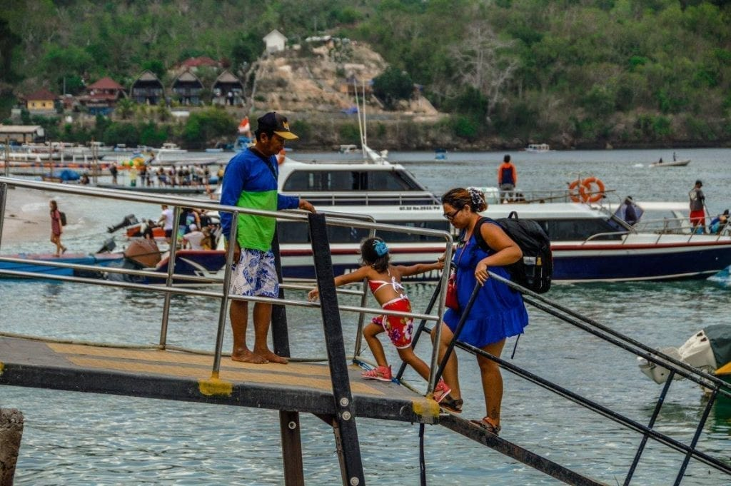 Watersport Penida Keluarga Dermaga Nusa penida