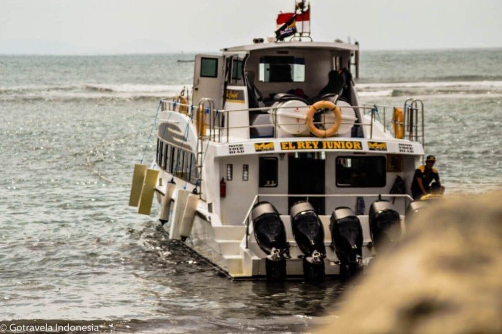 El rey junior fastboat nusa penida bali