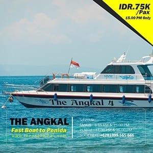 Harga tiket the angkal fast boat