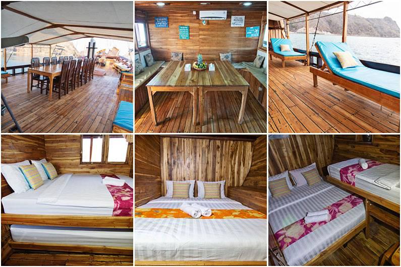 Interior Phinisi Maipa Deapati
