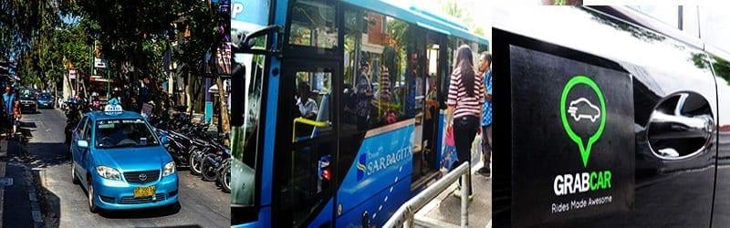 Jenis transportasi umum di bali