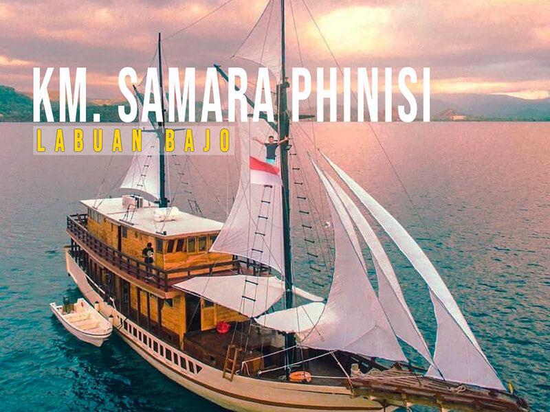 Komodo liveaboard Samara Phinisi