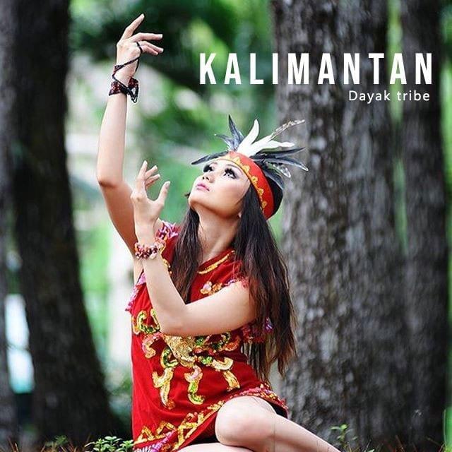 Kalimantan Dayak Wisata Indonesia Timur