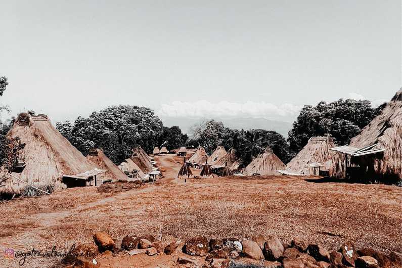 Kampung Adat Belaraghi Ngada Bajawa