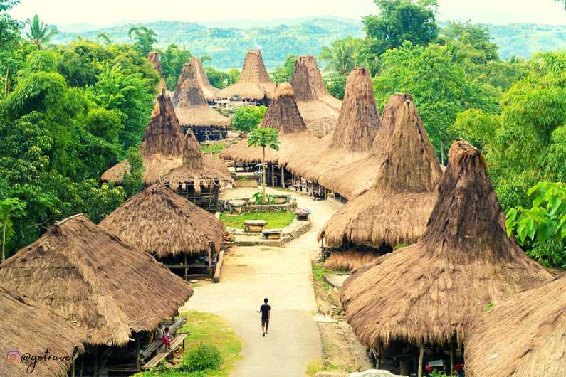 Kampung Adat Bena Ngada Bajawa