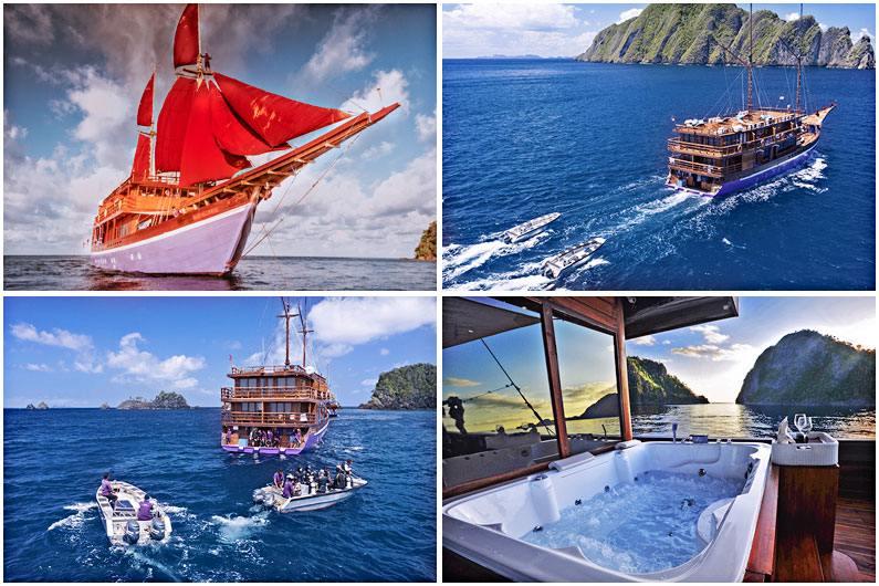 Kapal layar Phinisi Neomi Cruise