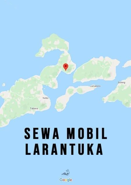 Map Rent Car Larantuka