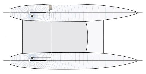 multi hulls catamaran