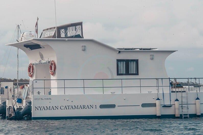 Nyaman-Catamaran-houseboat