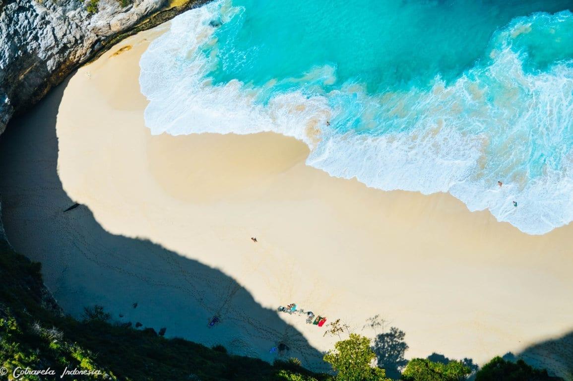 Pasir putih kelingking beach