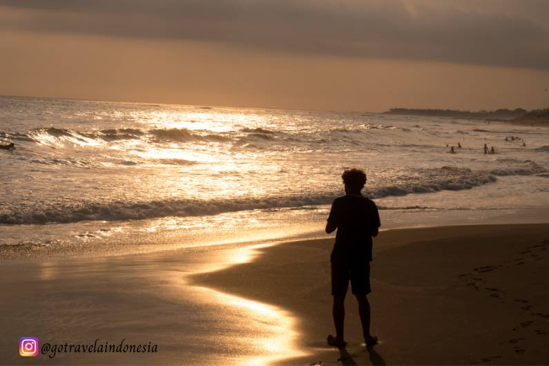 Pemandangan Pantai Canggu