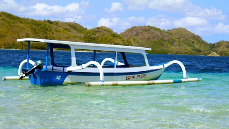 Sewa Boat Di Nanggu Lombok