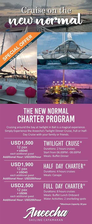 Public rate Rental Aneecha Catamaran Bali