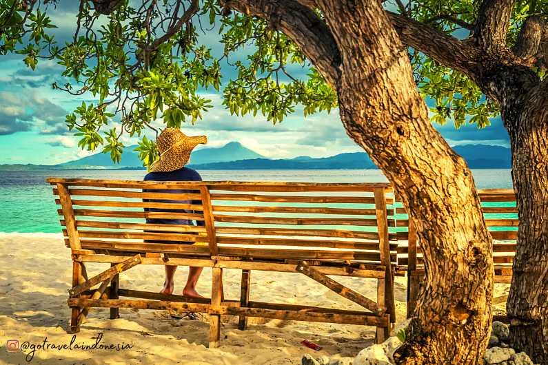 Pulau Lihaga Wisata Manado
