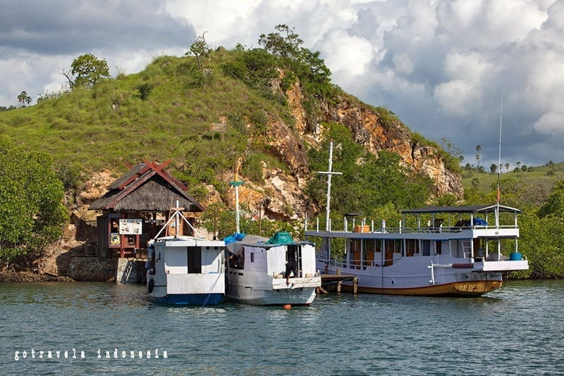 Rinca-Island-port