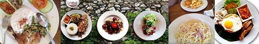 Halal lunch di Rumah Makan BTM Nusa penida