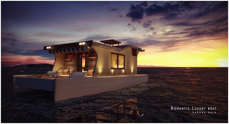 Romantic Luxury Boat