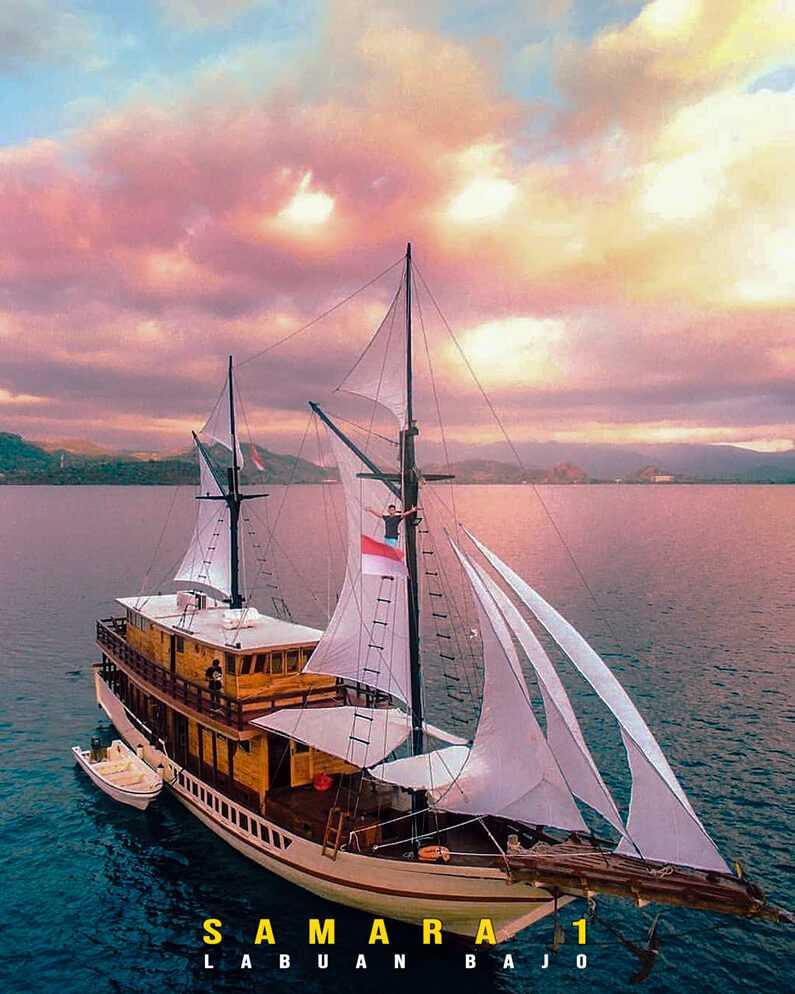 Kapal Samara 1 Labuan Bajo