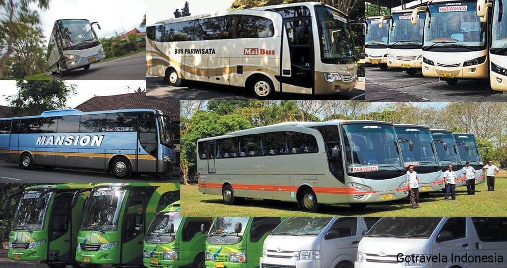 Bus Pariwisata di Bali