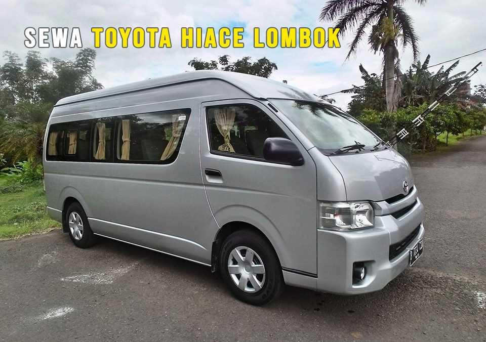 Toyota Hiace kapasitas 16 orang