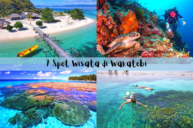 Spot Wisata Wakatobi