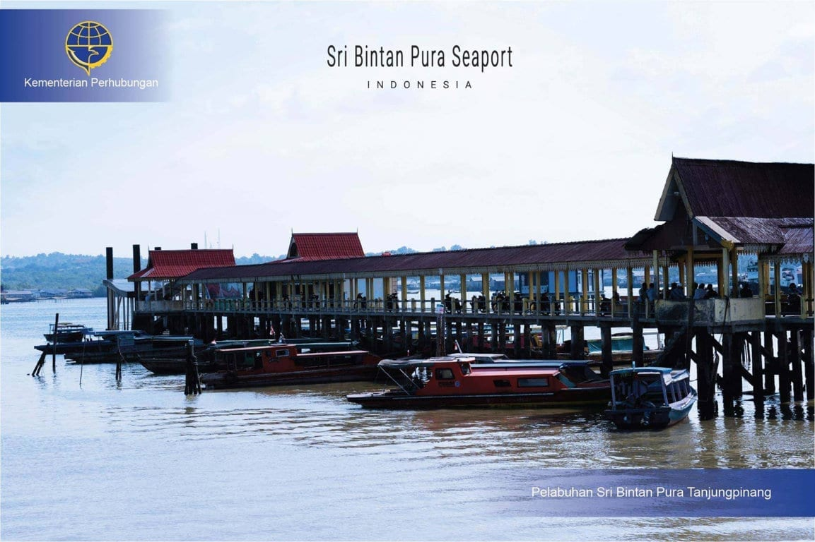 Sri Bintan Pura seaport - Perhubungan