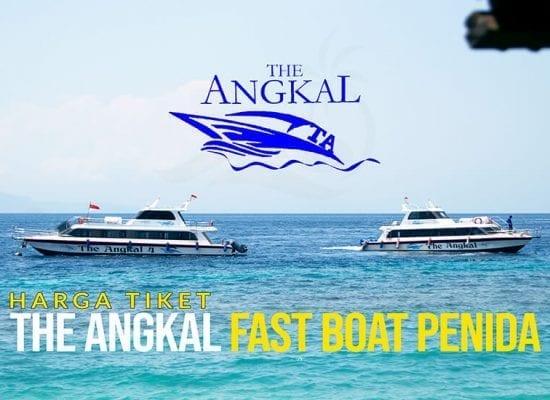 The Angkal Fast Boat Penida