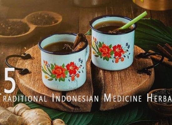 Traditional Indonesian Medicine Herbal