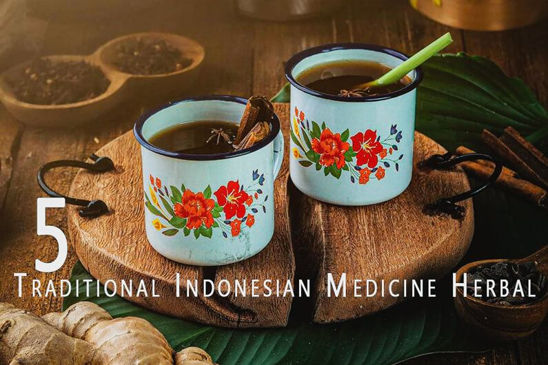 Traditional Indonesian Medicine Herbal