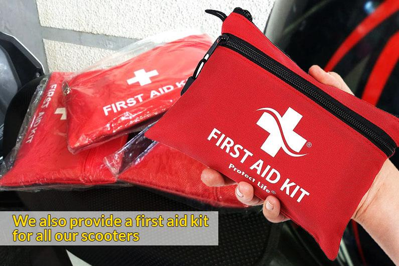 provide-a-first-aid-kit bali bike rental