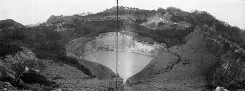vulkaan Kelimoetoe Flores 1925